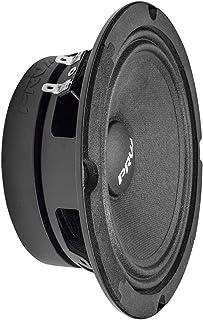 "PRV AUDIO 6MR200A-4 6"" Midrange Speaker, 4 Ohm Shallow Mount Car Speaker, Slim Profile, 100 Watts RMS Power, 200 Watts Con... photo"