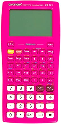 $32 » Graphing Calculator – CATIGA CS121 - Scientific and Engineering Calculator - Programmable System (Pink)