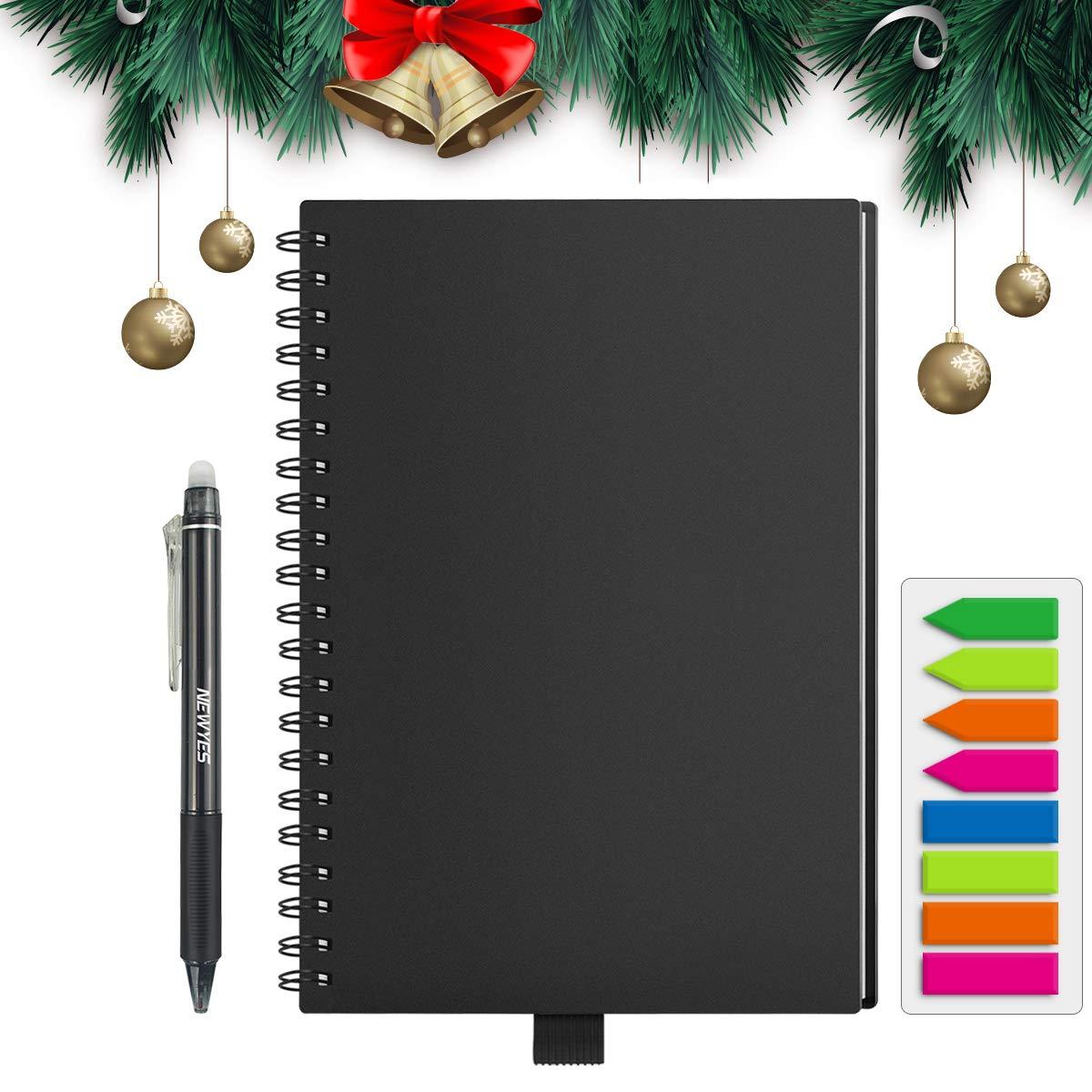 HOMESTEC Reusable Notebook Erasable Wirebound