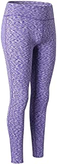 Perfect Home Women Fashion Workout Fitness Running Pants-Quick Dry with Printed Patterns Elastic Waistband Sport Leggings Fashion (Color : Purple, Size : XL)