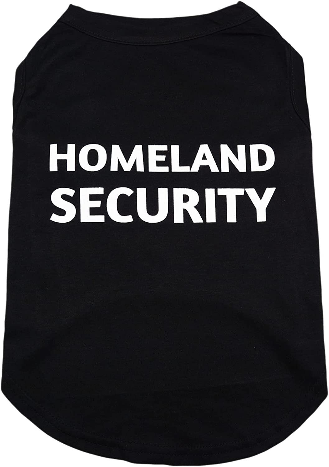 Security Industry No. 1 Dog Shirts Ranking TOP3 Lightweight Homeland Cotton P Black