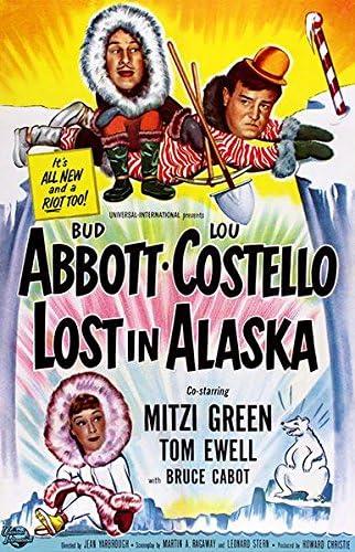 Abbott And Costello 1952 Lost In Alaska Movie Poster