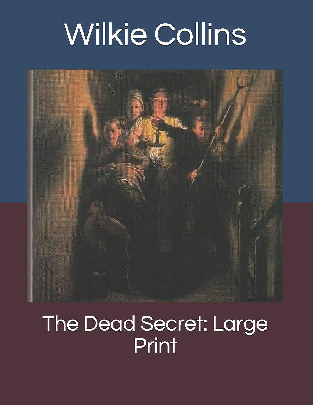矢歩行者家事The Dead Secret: Large Print