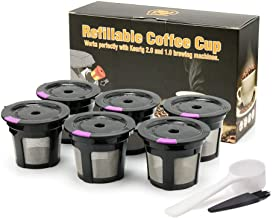 Reusable k Cups Storage Helper,Coffee Powder Filler Storage Container Coffee Filling Automatic Tool Gift Packge Come with ...