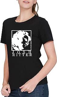 Women's Black Josh Ritter Josh Ritter T-Shirt Tee Shirt
