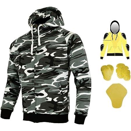 Heyberry Aramid Hoody Motorradjacke Hoodie Roller Jacke Camouflage Gr M Auto