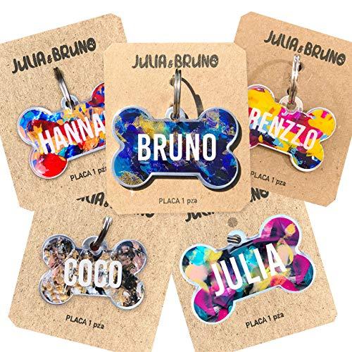 Placa Con Nombre Personalizado  marca Julia And Bruno