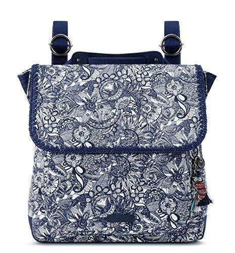 Sakroots Unisex-Erwachsene Convertible Backpack Rucksack, Navy Spirit Desert, Einheitsgröße