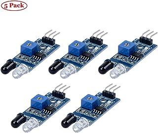 TeOhk 5Pcs Modulo Sensore a Barriera a Infrarossi Modulo Sensore di Prevenzione ad Ostacoli per