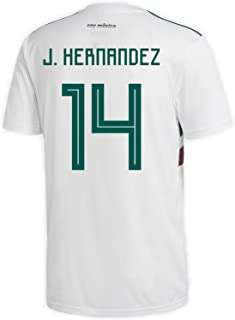 adidas J. Hernandez #14 Mexico Away Men's Soccer Jersey World Cup Russia 2018