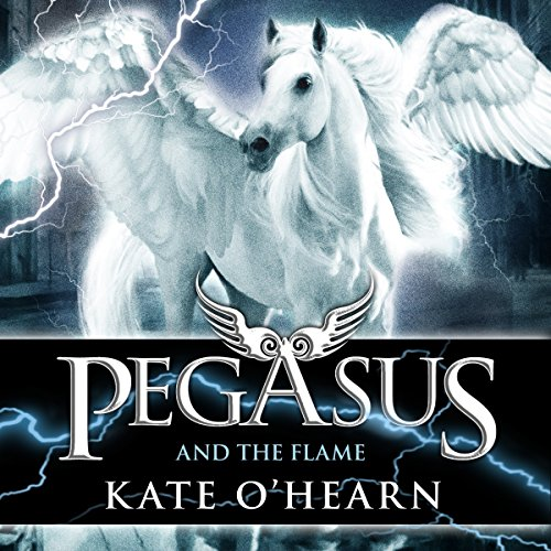 Pegasus and the Flame audiobook cover art