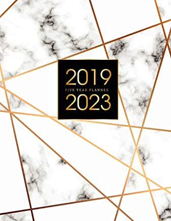 2019-2023 Five Year Planner: Elegant Marble, 60 Months Calendar, 5 Year Appointment Calendar, Business Planners, Agenda Schedule Organizer Logbook and ... Five Year (5 Year Monthly Planner 2019-2023