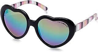 CANCER COUNCIL KIDS Girl'S Lovebug Sunglasses, Shiny Black, 48 mm