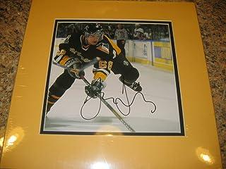 * JARIMIR JAGR * Pittsburgh Penguins signed 14x14 book photo display / UACC Registered Dealer # 212