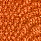 2R STOCK SRL - Tela tapizada por metro chenilla, color naranja oscuro, 1 x 1,40...