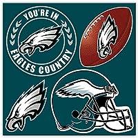 NFL Philadelphia Eagles 4-Piece Magnet Set, Green,