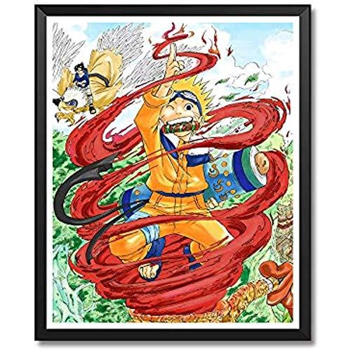 Sayup Manga Anime Naruto Soul Eater Death Note Haikyuu Canvas Art Print Poster For Home Decoration 40x60cm Framed