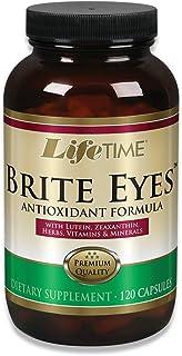 Lifetime Brite Eyes Antioxidant Formula | Supports Dry Eyes, Vision & Eye Health | with Lutein, Zeaxanthin, Bilberry, Vita...