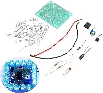 ROUHO 3Pcs DIY 555 Lampeggiante Kit Luce di Segnale Lampeggiante velocità Regolabile - Trova i prezzi più bassi