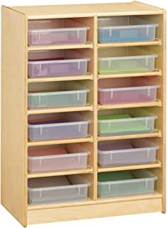 Jonti-Craft 12 Paper-Tray Cubbie Without Paper-Trays