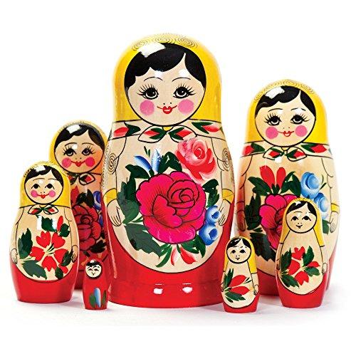 Matroschka, Matruschka, Matrjoschka, Babuschka 7-TLG.
