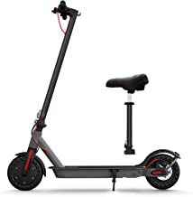 """Hiboy S2 Electric Scooter with Seat - 8.5"""" Solid Tires - Up to 17 Miles & 18.6 MPH Folding Commuting Scooter for Adults wi..."""