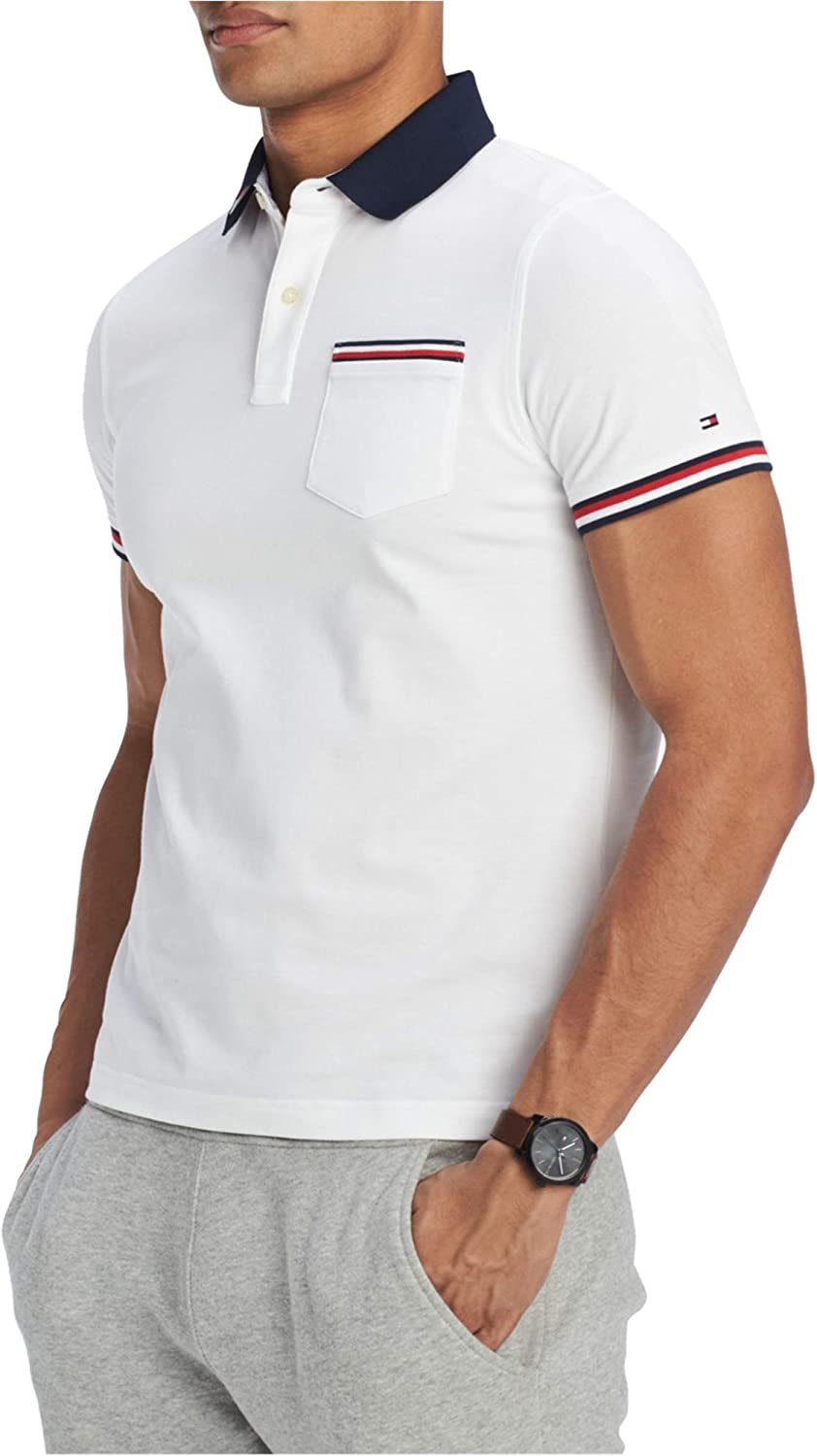 Tommy Hilfiger Mens Homer Shirt Opening large Ranking TOP15 release sale Rugby Polo