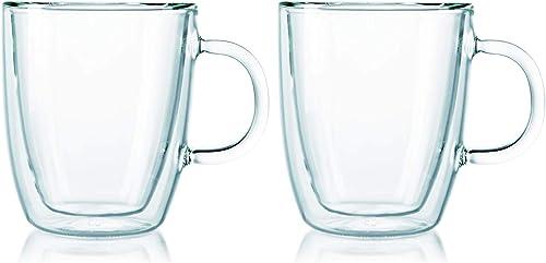 Bodum Espresso Mug Double Wall, Transparent, 10604-10