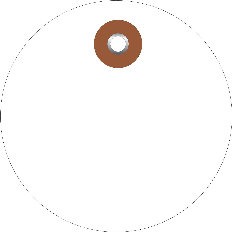Plastic Circle Tags, 3