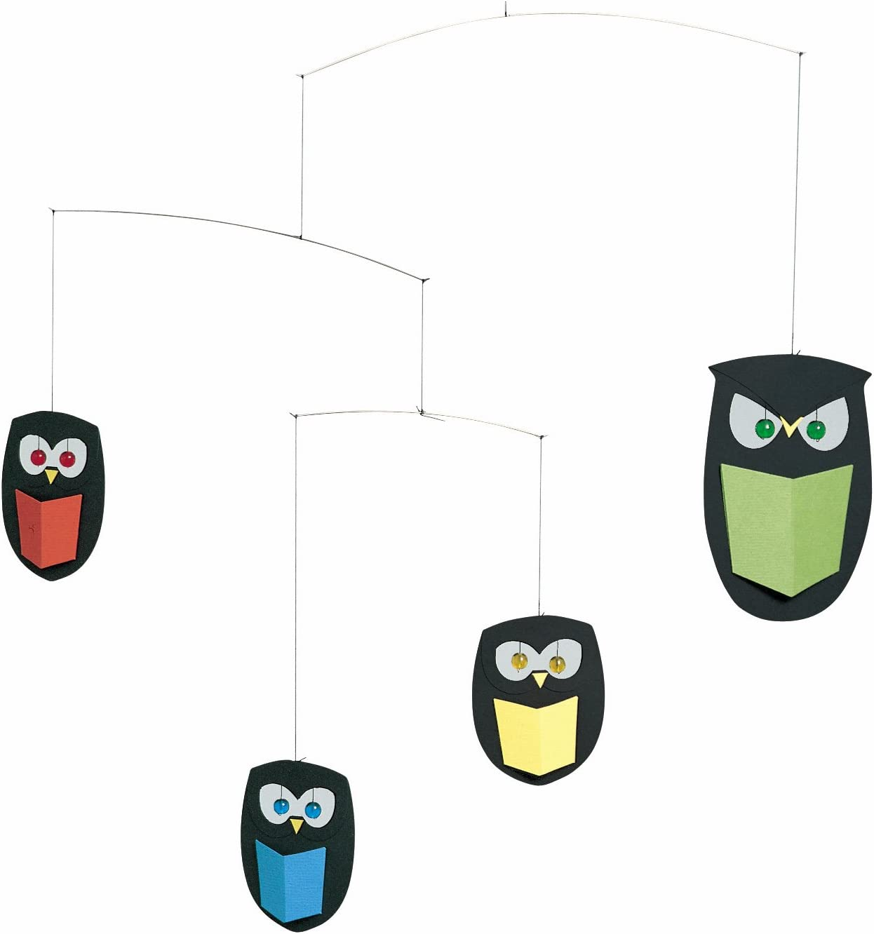 The Wisest Owls Hanging Mobile - Max 78% OFF 18 Handmade New color Inches in Denmark