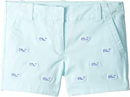 Embroidered Everyday Shorts (Toddler/Little Kids/Big Kids)