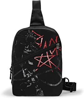 Soul Eater (11) Bolso Bandolera De Hombre Bolso Cruzada Hombre Bolsa De Pecho Sling Bag Crossbody Para Al Aire Libre Campi...