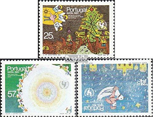 Portugal mer.-no.: 1736A-1738A (complète.Edition.) 1987 Dessins d'enfants (Timbres pour Les collectionneurs)
