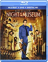 Night at the Museum Blu-ray Triple Play Dhd