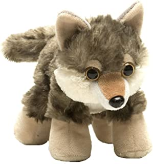 """Best Wild Republic Wolf Plush, Stuffed Animal, Plush Toy, Gifts for Kids, Hug'Ems 7"""" Review"""
