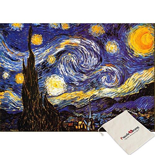 Puzzle Life La notte stellata - Vincent Van Gogh - 1000 Piece Jigsaw Puzzle
