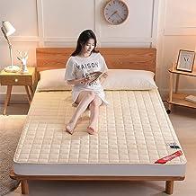 Tatami Mattress, Four Seasons Foldable Non-Slip Futon Mattress, Double/Single Sponge Soft Mattress for Bedroom, Office and...