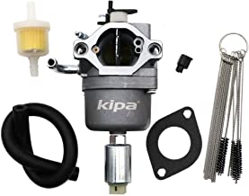 KIPA Carburetor for Brigg & Stratton 591731 594593 794572 796109 14.5HP - 21Hp Engines Mower Replace Nikki 699915 697122 with Mounting Gasket & Carbon Dirt Jet Cleaner Tool Kit Fuel Filter