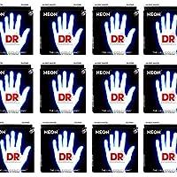 【3セット】DR DR-NWE10[10-46] NEON WHITE エレキギター弦