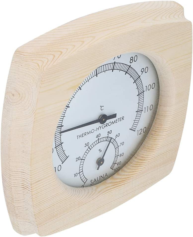 Gmkjh Ranking TOP8 Sauna Thermometer OFFicial store Thermo‑Hygrometer Wood