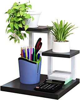 WWWANG - Estantería para libros de oficina o escritorio con estructura de acero, 4 colores, 30 x 30 x 28 cm (color blanco, tamaño: blanco)