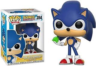 Funko Pop! Juegos: Sonic - Sonic con Esmeralda Juguete Coleccionable