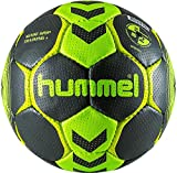 HUMMEL Ballon DE Handball Sense Grip Training + (Asphalt/Acid Lime, T2)