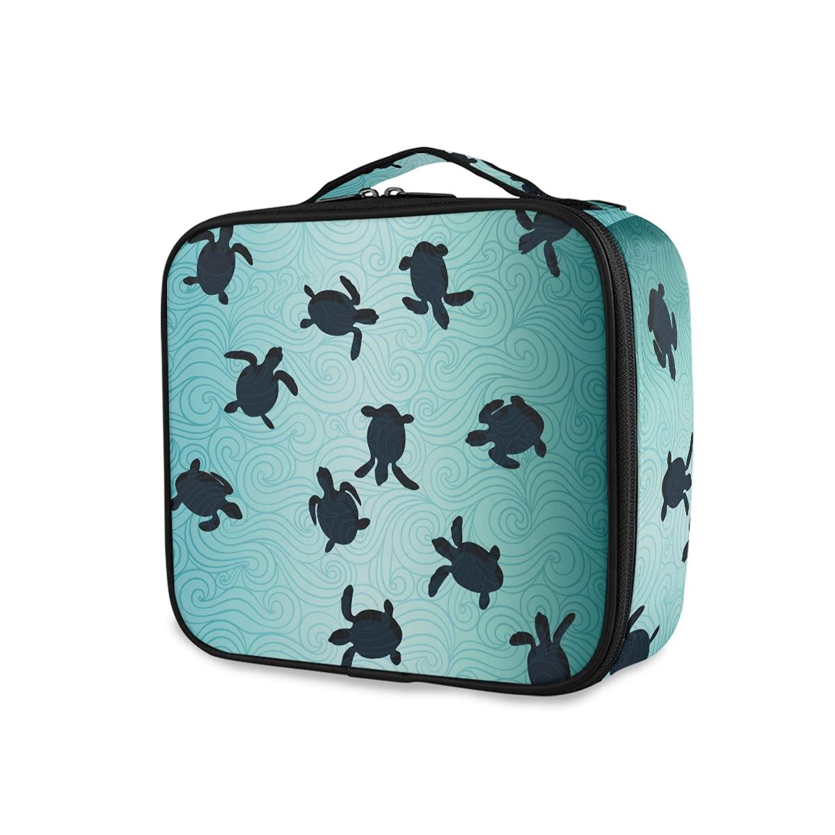 OTVEE Ocean Life Sea Turtle Wholesale Cosmetic Large Makeup Travel Bag