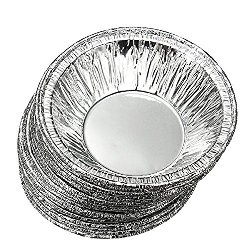 HugeStore Einweg Aluminium Muffinformen Muffinform Muffinförmchen Cupcake Förmchen Muffin-Form Backförmchen 50 Stück
