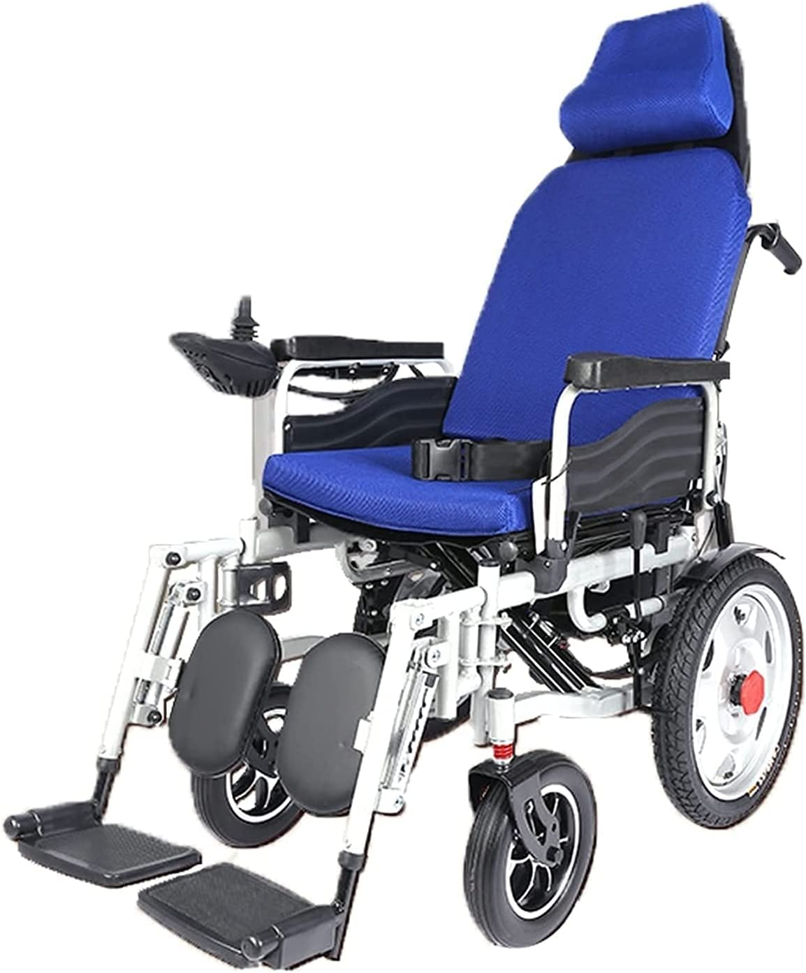 Four-Wheeled New products, world's highest quality popular! Max 60% OFF Scooter with Headrest Universal Wheelchair Electric