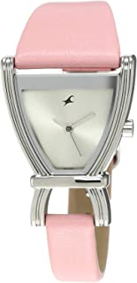 Fastrack Fits & Forms Analog Silver Dial Women's Watch -NK6095SL02