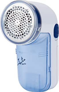 Jata QP398N Quitapelusas Cuchillas de Acero Inoxidable Diámetro 5 cm Contenedor de Pelusas Desmontable con Accesorios Cepillo para Limpieza y Para Nivel de Rasurado Alto