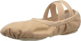 Bloch Dance Girls' Performa Stretch Canvas Split Sole Ballet Shoe/Slipper
