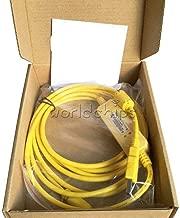 FidgetGear PLC Programming USB-SC09-FX Cable Mitsubishi FX0S/FX1S /FX0N /FX1N/FX2N Yellow Show One Size